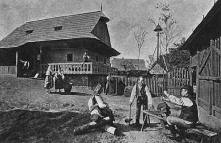 historie valašsko