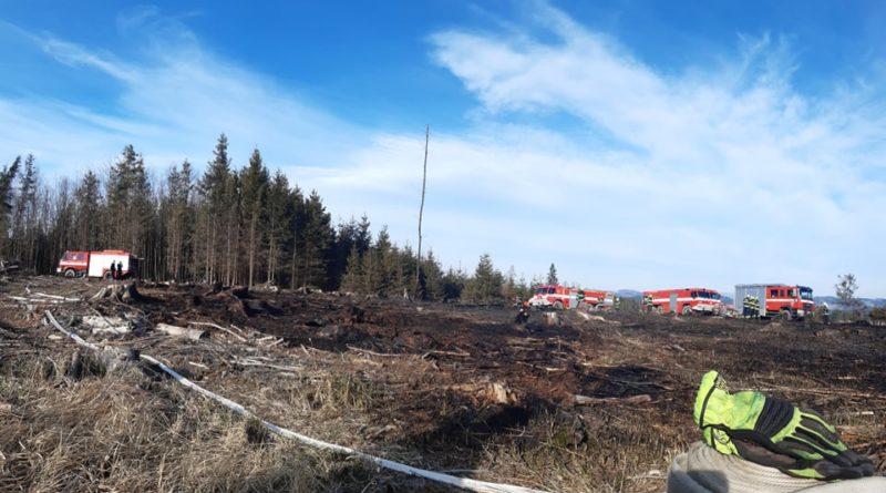 požár u Ratiboře