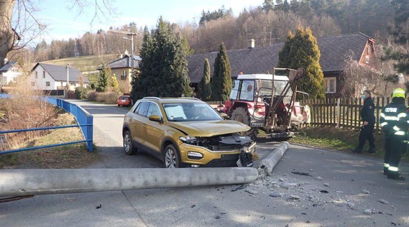 dopravní nehoda Zubří
