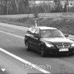 Pirátů silnic na Valašsku loni přibylo, rekordman jel 154 km/h